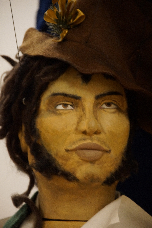 Der Schwarze Vere als Marionette